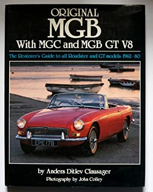 Original MGB with MGC and MGB GT: Clausager, Anders Ditley