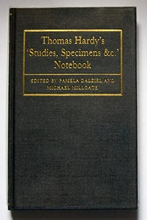 Thomas Hardy's 'Studies, Specimens &c.' Notebook