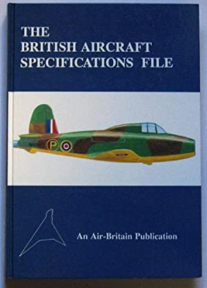 The British Aircraft Specifications File: British Military: Meekcoms, K.J. /