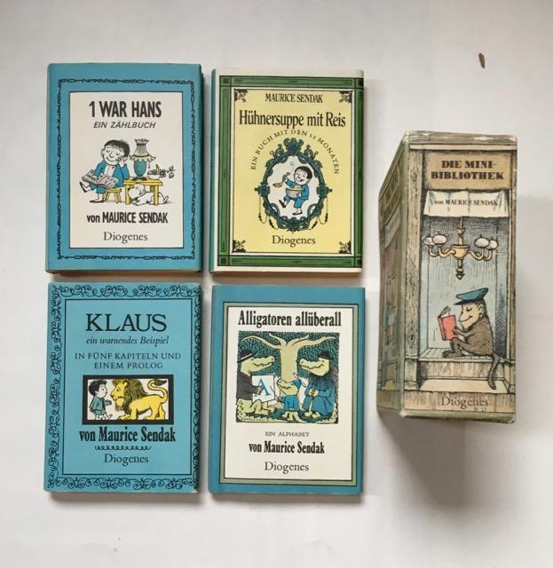 Die Mini-Bibliothek. Bd. 1-4. 1: Alligatoren überall.: Sendak, Maurice