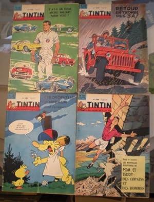 Tintin. Le Journal des Jeunes de 7: Hergé / Leblanc,