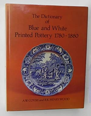 The Dictionary of blue and white Printed Pottery 1780-1880.