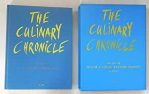 The Culinary Chronicle. The best of South & South Eastern France.