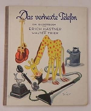 Das verhexte Telefon. Ein Bilderbuch.: Kästner, Erich /Trier,