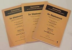 Kommentar zum Schweizerischen Zivilgesetzbuch, Band V: Das: Schönenberger, Wilhelm /