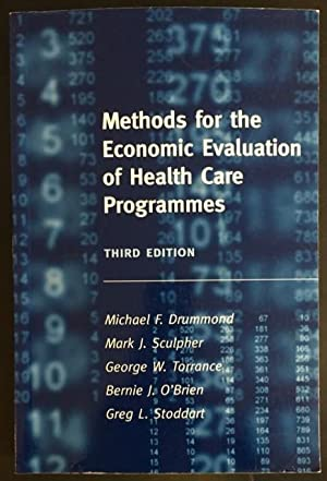 Methods for the Economic Evaluation of Health Programmes.