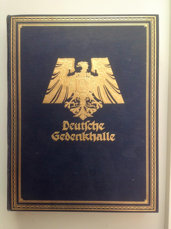 Deutsche Gedenkhalle 1923 Bücher Antik