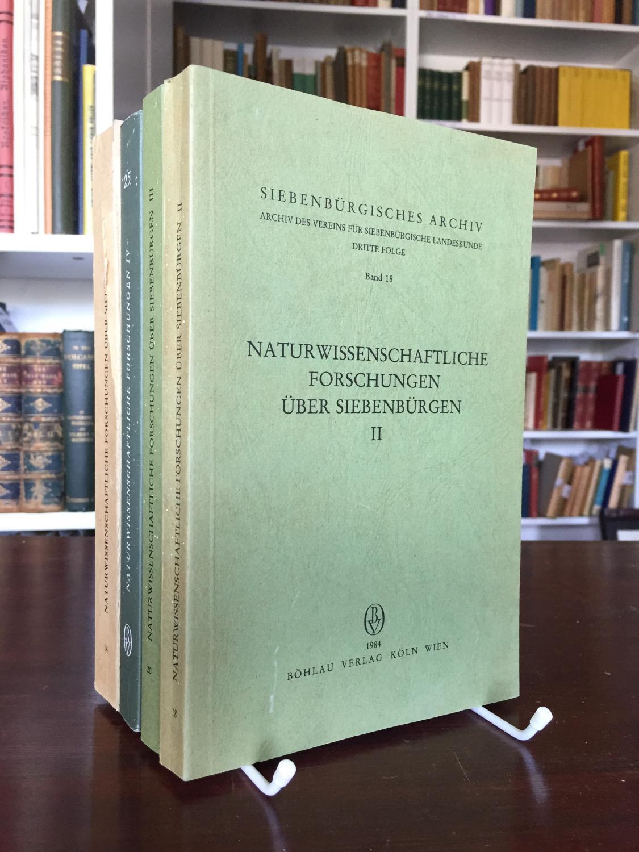 Naturwissenschaftliche Forschungen über Siebenbürgen, Band 1 -: Heltmann Heinz, Wagner