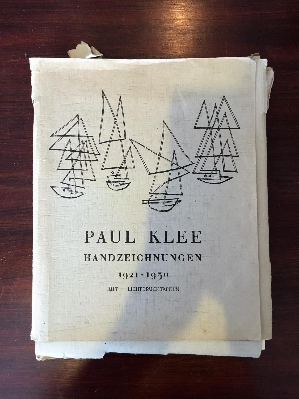 Paul Klee. Handzeichnungen II 1921 - 1930.: Grohmann Will,