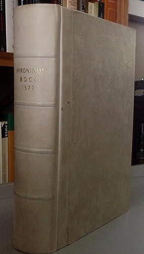 Kreütterbuch, darin underscheidt Nammen und Würckung der: Bock Hiernoymus,