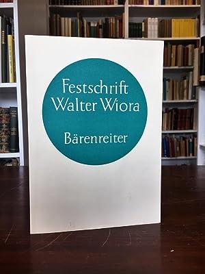 Festschrift für Walter Wiora zum 30. Dezember: Finscher Ludwig, Mahling