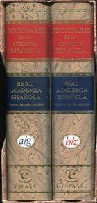 Diccionario de la Lengua Espanola. 2 Bände.,: Real Academia Espanola: