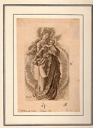 La Vierge à la couronne d?étoiles: DURER Albrecht) Guillaume