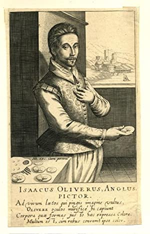 Isaacus Oliverus Isaac Oliver ( 1556 -: HONDIUS Hendrick