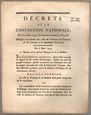 Décrets de la Convention Nationale
