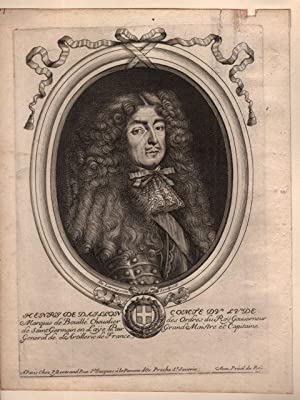 Henry de Daillon Comte de Lude: LARMESSIN Nicolas I