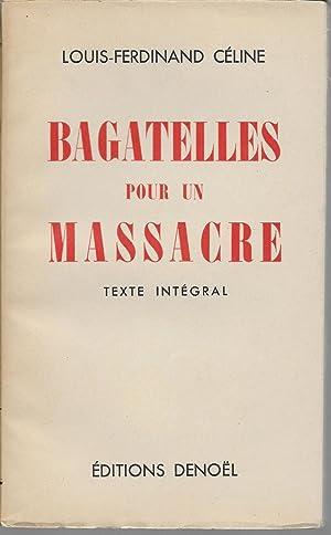 b81441682e5 celine - bagatelle pour un massacre - AbeBooks