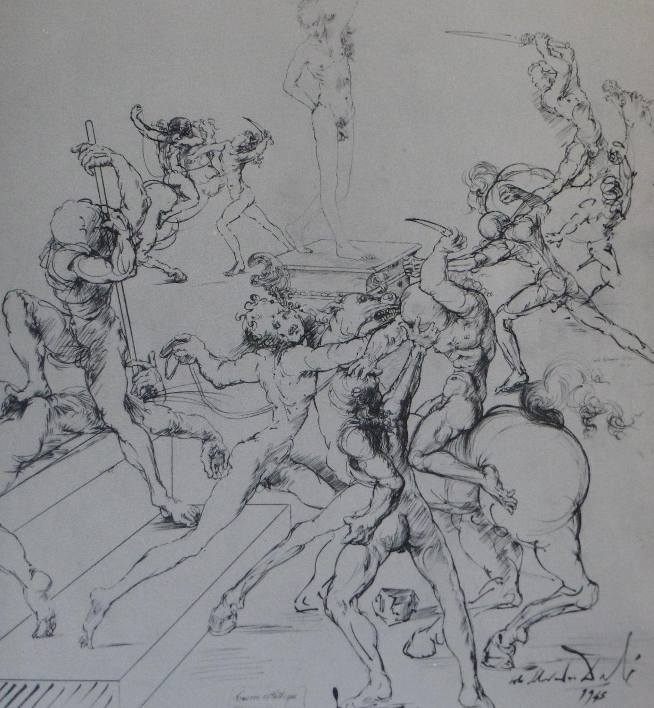 The Drawings of Dali: Dali, Salvador; Longstreet, Stephen