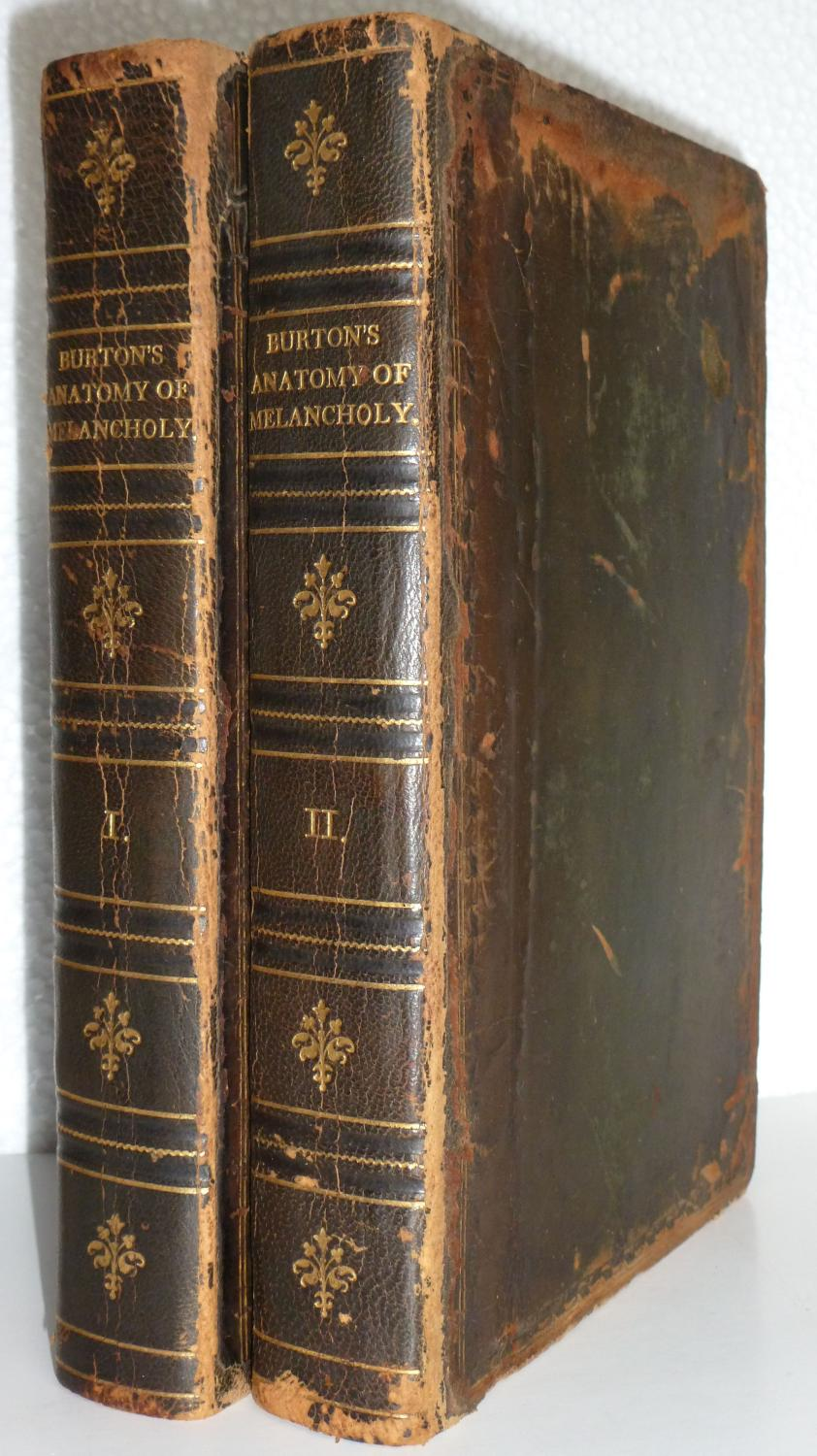 The Anatomy of Melancholy (Volumes I and II) by Democritus Junior ...