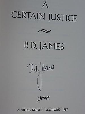 A Certain Justice: James, P. D.