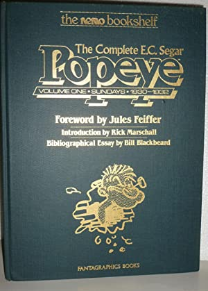 The Complete E.C. Segar Popeye, Vol. 1: Sundays, 1930-1932: Segar, E. C.