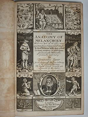 The Anatomy of Melancholy (Volumes I and II): Democritus Junior [Burton, Robert]