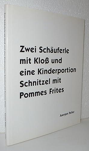 Zwei Schauferle mit Klob und eine Kinderportion: Teller, Juergen