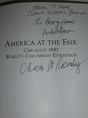 America at the Fair: Chicago's 1893 World's Columbian Exposition: Rosenberg, Chaim M.