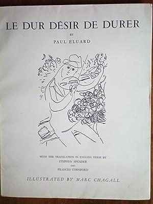 Le Dur Desir De Durer: Eluard, Paul