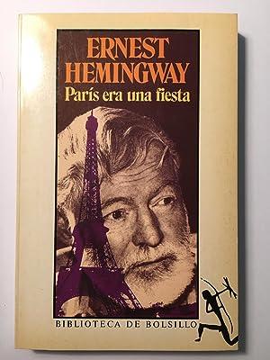 París era una fiesta: Ernest Hemingway