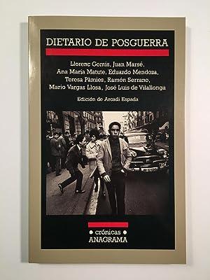 Dietario de Posguerra: Arcadi Espada (Editor):