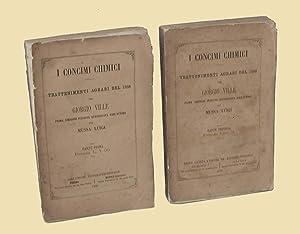 I Concimi chimici Trattamenti agrari del 1868: Giorgio Ville