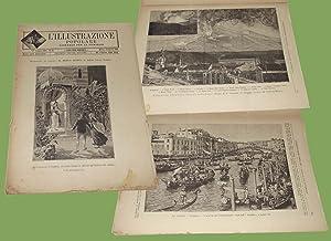 L'illustrazione popolare 14 Agosto 1892 Etna Catania