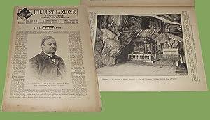 L'illustrazione popolare 4 Settembre 1892 Palermo Grotta