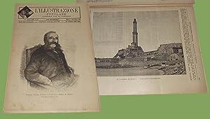 L'illustrazione popolare 11 Settembre 1892 Genova curiosità Podestà Lanterna