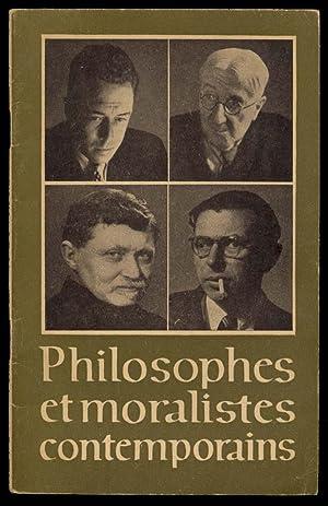 PHILOSOPHES ET MORALISTES CONTENPORAINS: Merlot