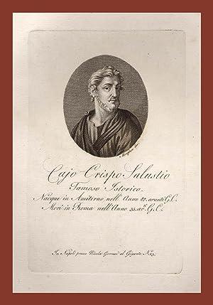 Sallustio Cajo Crispo Storico Amiterno: GIUSEPPE BOCCANERA DA MACERATA