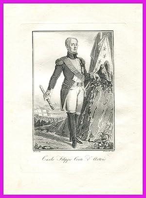 Carlo Filippo conte Artois Versailles Savoia Torino: Presso Batelli e Fanfani