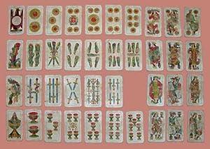 Carte da gioco Piacentine Modiano non complete 1963: N/D