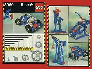 8050 Lego Technic istruzioni montaggio Gru Elicottero Robot: N/D