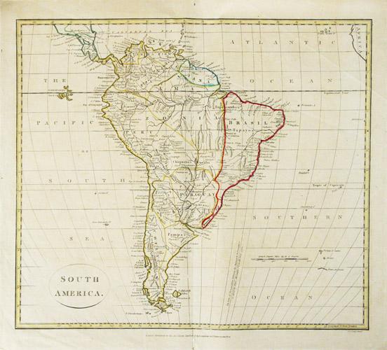 South America. Map.   [ ] (bi_15148717953) photo