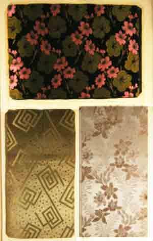 Stoffmuster. - 65 Original-Stoffmusterbücher einer Elsässer Textilfabrik. / Collection de 65 grands...
