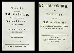 Nachricht von dem Militär-Aufzuge, und der bevorstehenden: KÖNIG, Franz Niklaus)