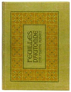 Feuilles d'automne. Préface de Philippe Godet.: ROBERT, Philippe (1881-1930)