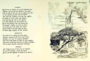 Phèdre. Tragédie. 25 Lithographies originales de R.-Th.: RACINE (Jean) &