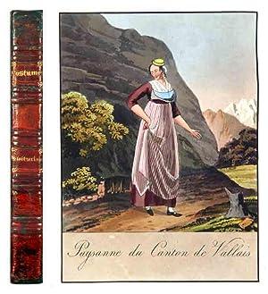 Collection de costumes suisses d'après les dessins: Reinhardt, Joseph