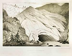 Untersuchungen über die Gletscher. Text- u. Tafelband.: Agassiz, L. (Louis)