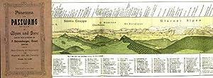 Panorama vom Passwang 1207 m. ü. M.: DÜRRENBERGER, F.