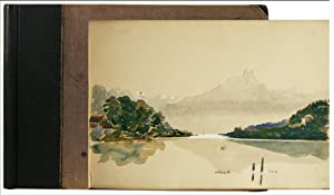 Switzerland. - Watercolors and pencil drawings of: STEAD, Eleanor K.