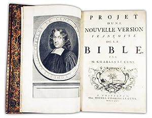 La Sainte Bible, contenant les livres de: Bible. - LE